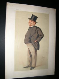 Vanity Fair Print 1875 Guildford Onslow, Legal